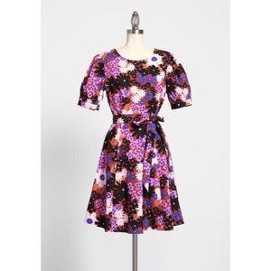 Modcloth Princess Highway Floral Dress